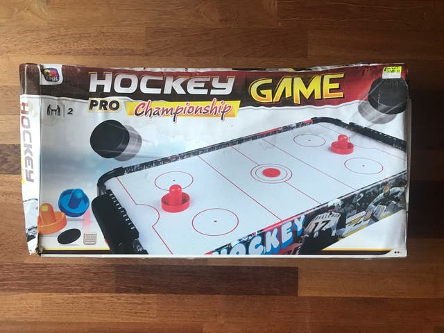 Colorbaby Juego Air Hockey de mesa CB Games