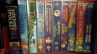 Peliculas animación VHS