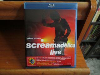 Primal Scream Blu Ray y CD