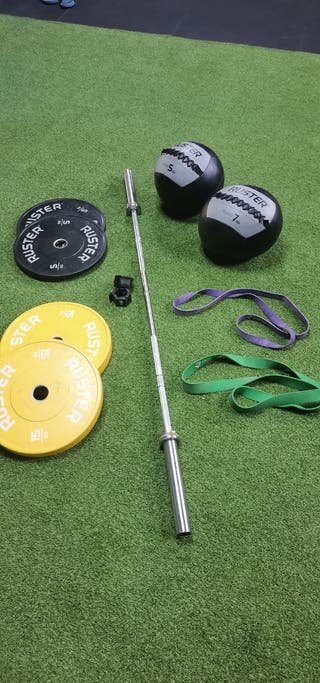 Material crossfit fitness