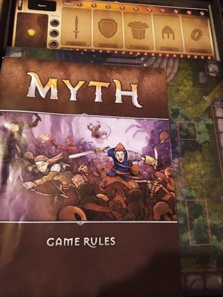 MYTH Board Game by Megacon Games