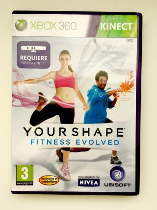 Juego Xbox 360 Your Shape Fitness Envolved