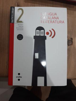 Libro lengua catalana i literatur 2do Bachillerato
