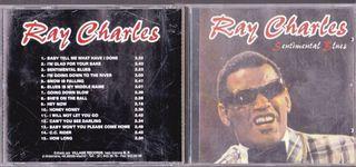 RAY CHARLES SENTIMENTAL BLUES CD VILLAGE RECORDS