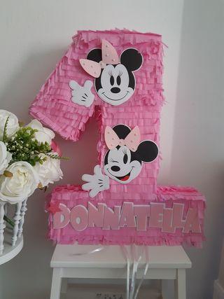 Piñata Minnie 1 año
