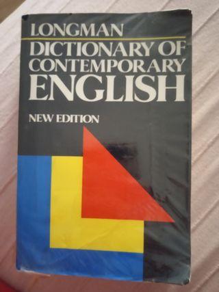 Diccionario de inglés Longman.