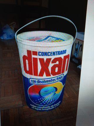 Detergente dixan concentrado 5 kg.