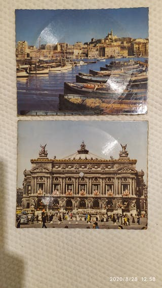 Discos postal, 45rpm.Años 60,Francia