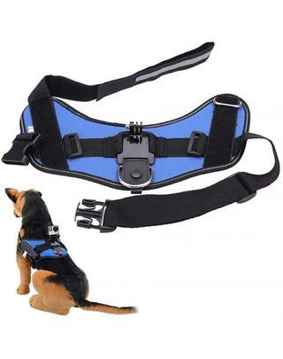 Arnes de perro para cámara deportiva GoPro / Sjcam