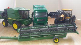 Camion, Tractor i Segadora de juguete