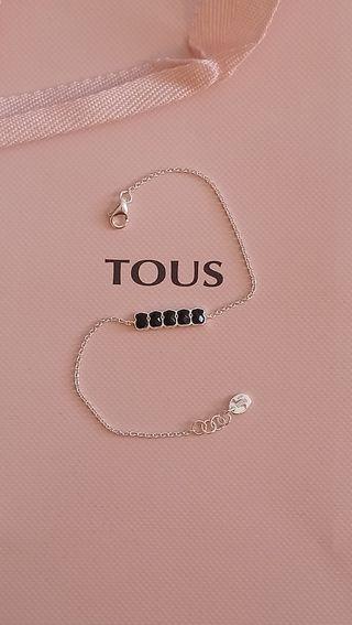 pulsera Tous mini osos onix negros