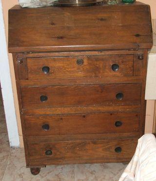 Mueble Escritorio años 60 para Restaurar. Bureau