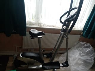 V-FIT excercise bike and running machine