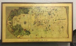 Lamina carta de navegacion Juan de la Cosa 1500