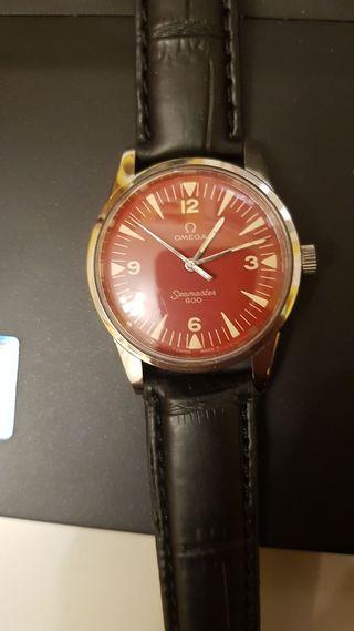 Omega Seamaster 601 (1960). 17 jewels.