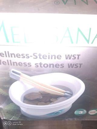 Aparato calentador masaje piedras