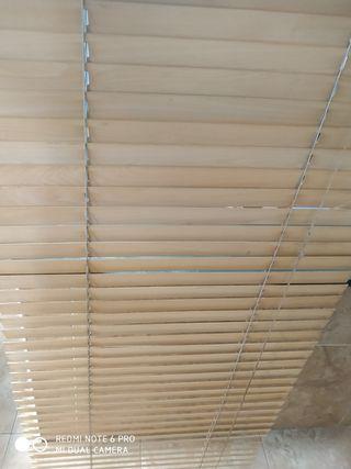 persiana de madera ikea