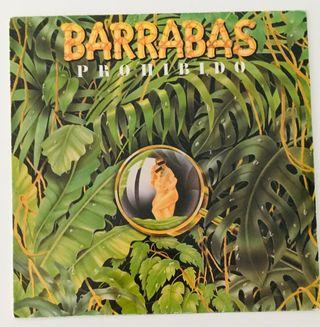 Barrabas : Prohibido Disco Vinilo LP