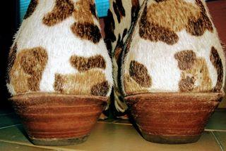 Bota botín camperas Sendra estampado leopardo 37