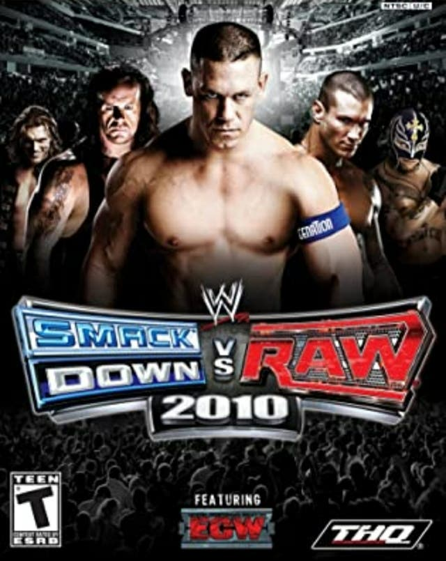 WWE 2010 playstation 2 game