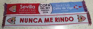 Dos Bufandas del Sevilla FC