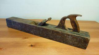 Lote Antiguas herramientas 3 Garlopas + Plancha