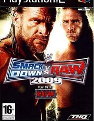WWE 2009 playstation 2 game