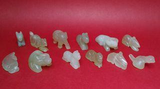 figuras jade chinas