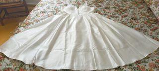 vestido de novia/fiesta