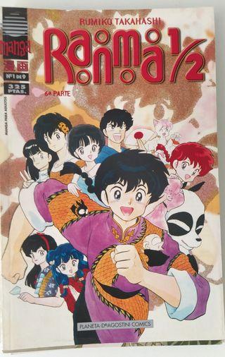 Colección Manga Ranma 1/2. incompleta