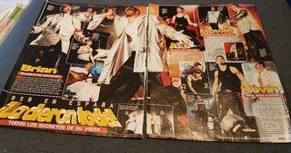 backstreet boys artículos revistas sueltos años 90