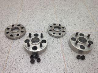 Separadores Braid Delanteros(20mm) Traseros (40mm)