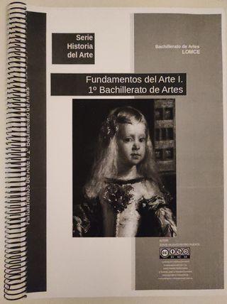 Libro: Fundamentos del Arte. 1°. Bachillerato.