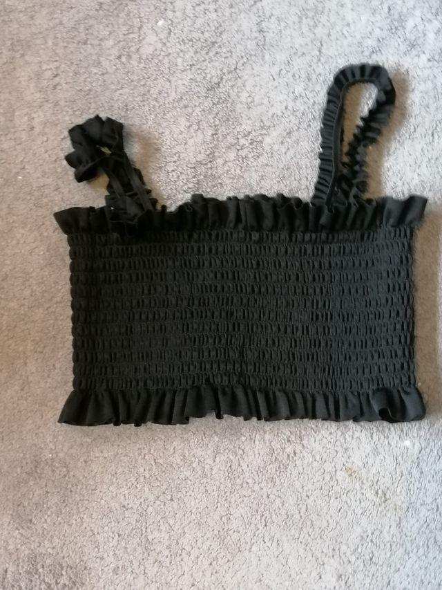 Black Prettylittlething Tank Top
