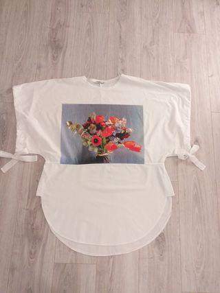 zara túnica japonesa XL