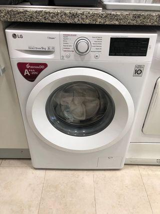 Lavadora LG último modelo 9kg
