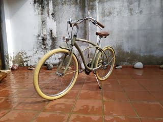 Bicicleta cruiser Hood Bikes - Barcelona Haw 3V