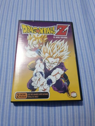 Dragon Ball Z (2 películas DVD)