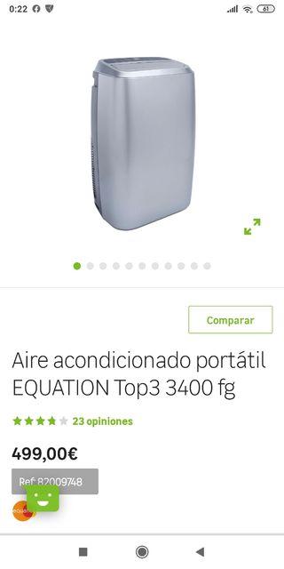 Aire acondicionado portátil equation top 3