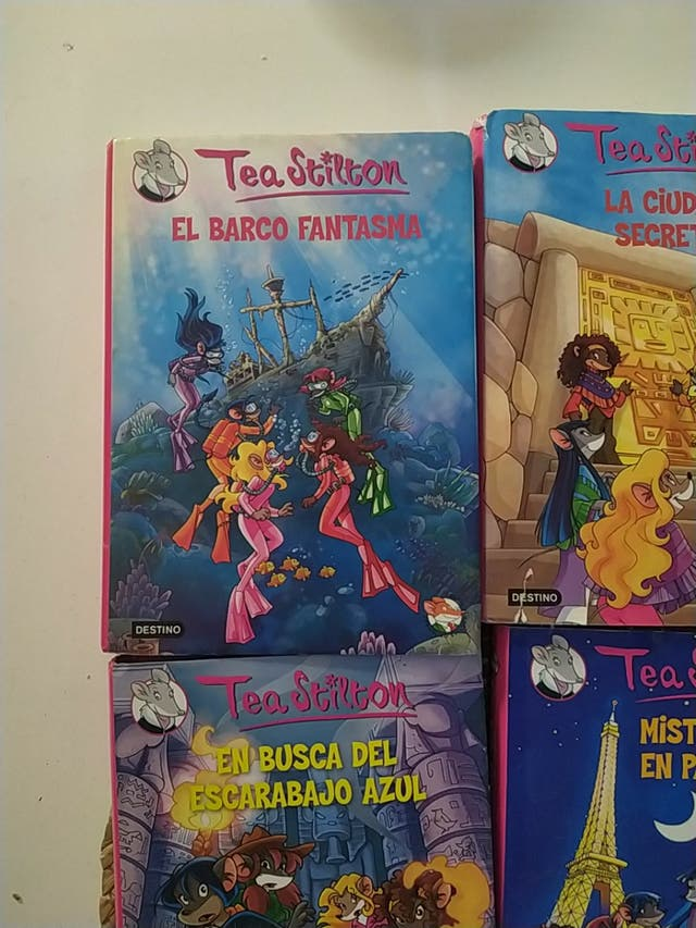 Libros Tea Stilton