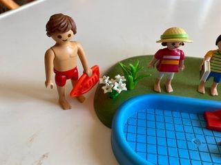 PLAYMOBIL Compact Set Piscina para Niños