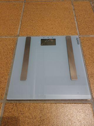 peso con medidor de %grasa corporal