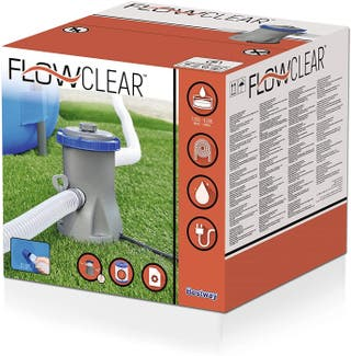 Bomba con filtro para piscina hinchable a estrenar