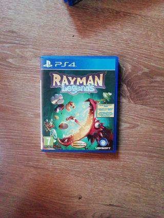 Juego PS4 RAYMAN LEGENDS