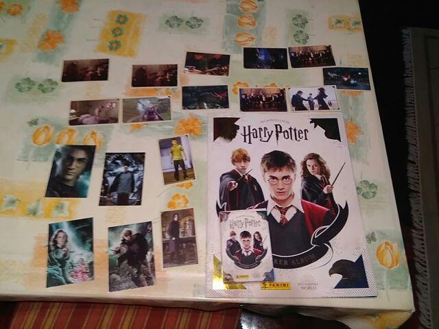 Cromos de Harry Potter Saga