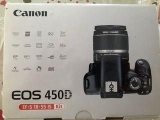 Cámara Canon EOS 450D