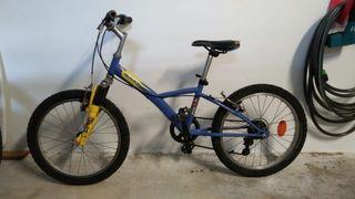bicicleta niñ@ 20 pulgadas
