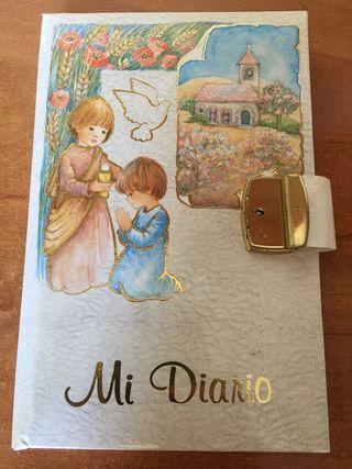 Mi Diario Mi Primera Comunion Sin Usar// Escolar