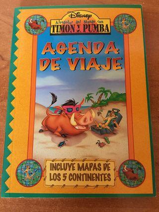 Agenda de Viaje Timon y Pumba// Playa, escolar, DC