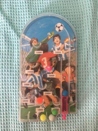 Pinball vintage fútbol años 80